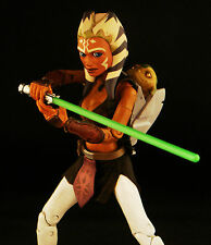 CUSTOM MARVEL LEGENDS VII FIRST ORDER STAR WARS BLACK SERIES AHSOKA TANO JEDI 6""