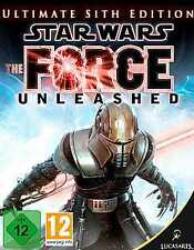 Star Wars The Force Unleashed Ultimate Sith Edition * ottime condizioni