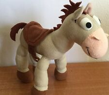 "Disneyland Toy Story Bullseye Plush Horse 10"" Jointed Posable Legs Soft Collect"