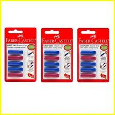 3 x Faber-Castell impugnatura 2001 GOMMA TAPPO PASTELLI CAVO Protector - 3