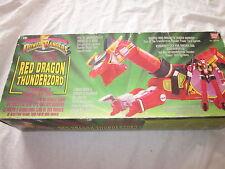 POWER RANGERS RED DRAGON THUNDERZORD BOXED