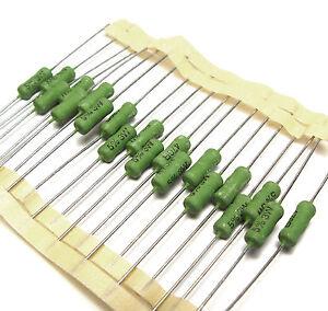 10x Corning Resistor CGW Vintage Mil Resistors 430 ohms 2w