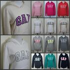 NEW GAP Women Easy Fit Long Sleeve Hoodie Sweat shirt SIZE XS, S, M, L, XL