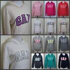 NEW GAP Women Easy Fit Long Sleeve Hoodie Sweat shirt SIZE XS, S, M, L, XL