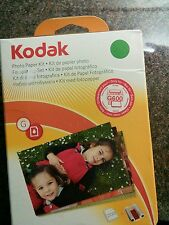 Kodak G200 Cartouche Couleur & papier photo kit new & sealed EasyShare G600 & G610