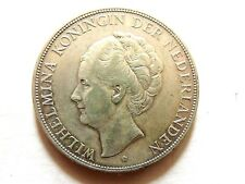 1932 Netherlands 2 I/2 Gulden Silver Coin