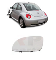 FOR VW BEETLE 1998 - 2010 NEW WING MIRROR HEATED GLASS LEFT N/S