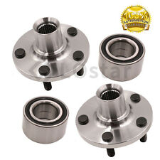 Pair(2) Front Wheel Hub & Bearing Assembly Fits 2003-2005 Dodge Neon