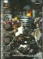 Deadzone War in Urban Battle Zones Jake Thornton RPG Book