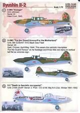 Print Scale Decals 1/72 ILYUSHIN IL-2 STURMOVIK Soviet Ground Attack Bomber