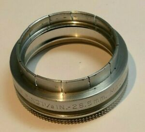 """28.5mm to 33.3mm (screw in) to series 5 V double threaded filter holder 1 5/16"""""""