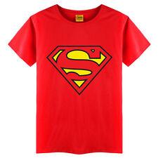niño infantil SUPERMAN SPIDERMAN Verano Cuello Redondo Camiseta de MANGA CORTA