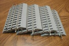 """LIONEL FASTRACK 5"""" STRAIGHT TRACK 4 PIECES O GAUGE"""