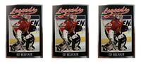 (3) 1991 Legends #36 Ed Belfour Hockey Card Lot Chicago Blackhawks