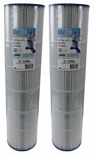 2) Unicel C-7499 Spa Replacement Cartridge Filters 100 Sq Ft American Premier