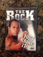 WWE - The Rock: Just Bring It! (DVD, 2002)Authentic US Release Scratch Free