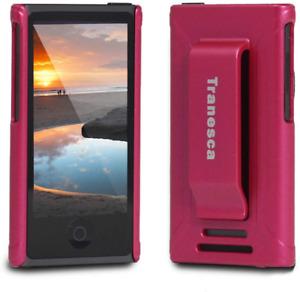 iPod Nano 7 case, iPod Nano 7th & 8th Generation Rubber Cover Shell case with Be