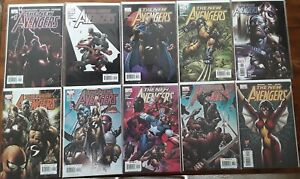 The New Avengers (Lot #2) Ten NM Comics Wolverine Spider-Man Iron Man