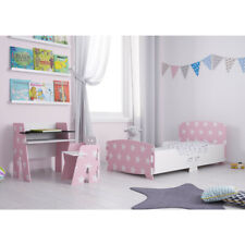 Pink Toddler Bed with Stars