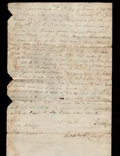 500 acres for $1000 - 1794 Botetourt Co. Virginia land sale Wm Watts & Adam Briz