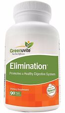 Greenuvite Elimination - Herbal Detox & Candida Cleanse. Free Shipping!