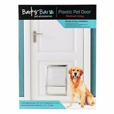Extreme Weather Pet Door Dog Cats Exterior Entry Large Heavy Duty Safe XL Frame