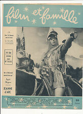 FILM ET FAMILLE 86 (10/49) INGRID BERGMAN SHIRLEY TEMPLE PIERRE BLANCHAR COOPER