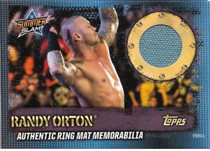 Randy Orton Topps WWE Slam Attax 10th Edition Ring Mat Relic Memorabilia