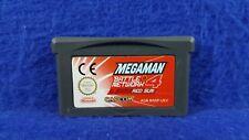 Gameboy Advance **MEGA MAN Battle Network 4 Red Sun Genuine Cart GBA PAL UK