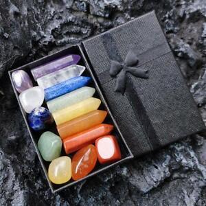 Natural Obelisk Quartz Crystal Double Point Reiki Mineral Specimen Heal Gift
