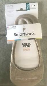 SmartWool Secret Sleuth Liner Socks Merino Wool Gripper No-Show Low-Cut SZ L
