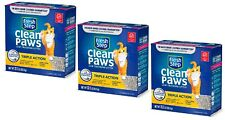 (3) 22.5 lb Fresh Step Triple Action Cat Litter, Low Track, Scented, Low Dust