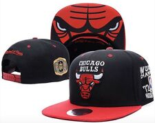 Chicago Bulls Mitchell & Ness NBA Cap Snapback Flat Cap: One Size Fits Most #4