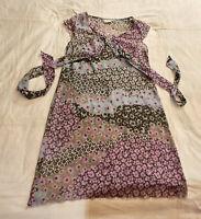 Strandkleid,Gr. 38,dreamstar,mehrfarbig,100% Polyester,Rundhals,ärmellos