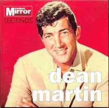DEAN MARTIN - LEGENDS: UK PROMO CD ALBUM (2007) THAT'S AMORE, MAMBO ITALIANO ETC