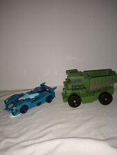 Transformers lot Blurr and Dump truck