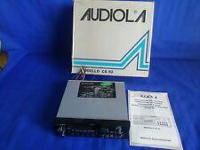 AUDIOLA CS93 Autoradio Vintage FM Cassette Autoreverse NUOVA d'epoca FUNZIONANTE
