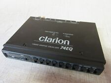 Clarion 74EQ 7-Band Graphic Equalizer
