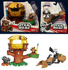 New ENDOR ADVENTURE + SCOUT TROOPER & SPEEDER BIKE Star Wars GALACTIC HEROES