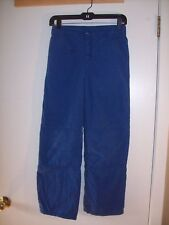 Gymboree boys (Light Snow Ski pants) blue warm pants FLEECE LINED RARE Size 12