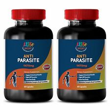 Candida Cleanse Capsules - Anti Parasite Solution 1475mg - Parasite Zapper 2B