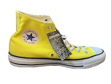 Converse Fluo Giallo All star Alta