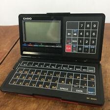 Vintage Casio SF 3000 Digital Diary Electronic Palm Pilot 80s Digital Computer