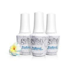 Harmony Gelish UV Gel 1140003 Pro Bond 0.5oz Acid Free Primer x 3 Bottles