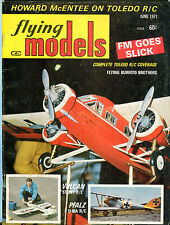 Flying Models Magazine June 1971 Howard McEntee Toledo R/C EX 050516jhe