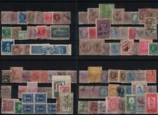 ITALY: Mixed Collection of Used Revenue/Fiscal Examples - 8 Stock Cards (35657)