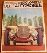 Pininfarina ENCICLOPEDIA DELL'AUTOMOBILE 1968 n° 46 MERCER COBRA - 8/17