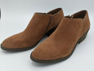 Lucky Brand Faithly Women's Ankle Boots Toffee Sz 8.5