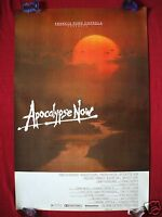 APOCALYPSE NOW * 1979 ORIGINAL MOVIE POSTER 1SH ROLLED ADVANCE MARLON BRANDO NM