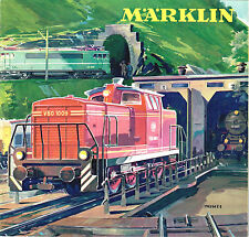 Marklin 1963/64 Catalog, English Text With US $ Prices, New